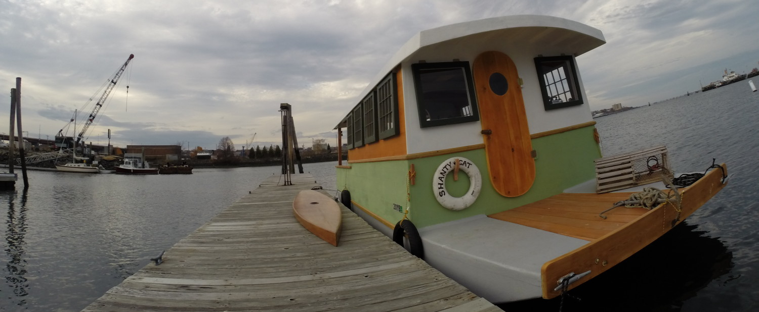 ECOCATS.US Eco Efficient Low Impact EcoCat ShantyCat Catamaran Houseboat Designs